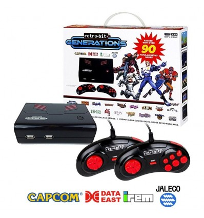 Consola Retro-Bit Generations - Plug and Play +90 juegos Retro
